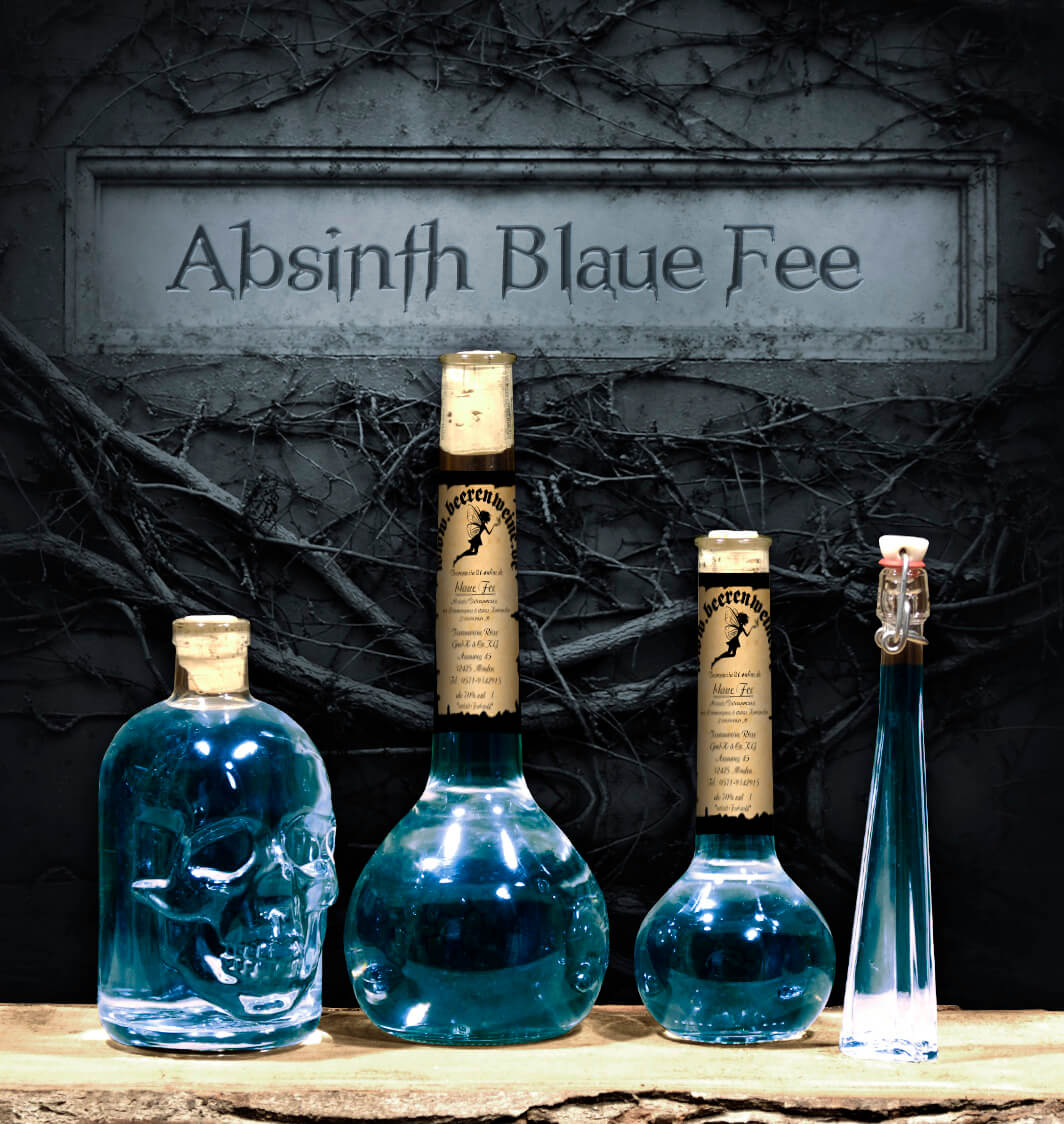 "Absinth ""Blaue Fee"""