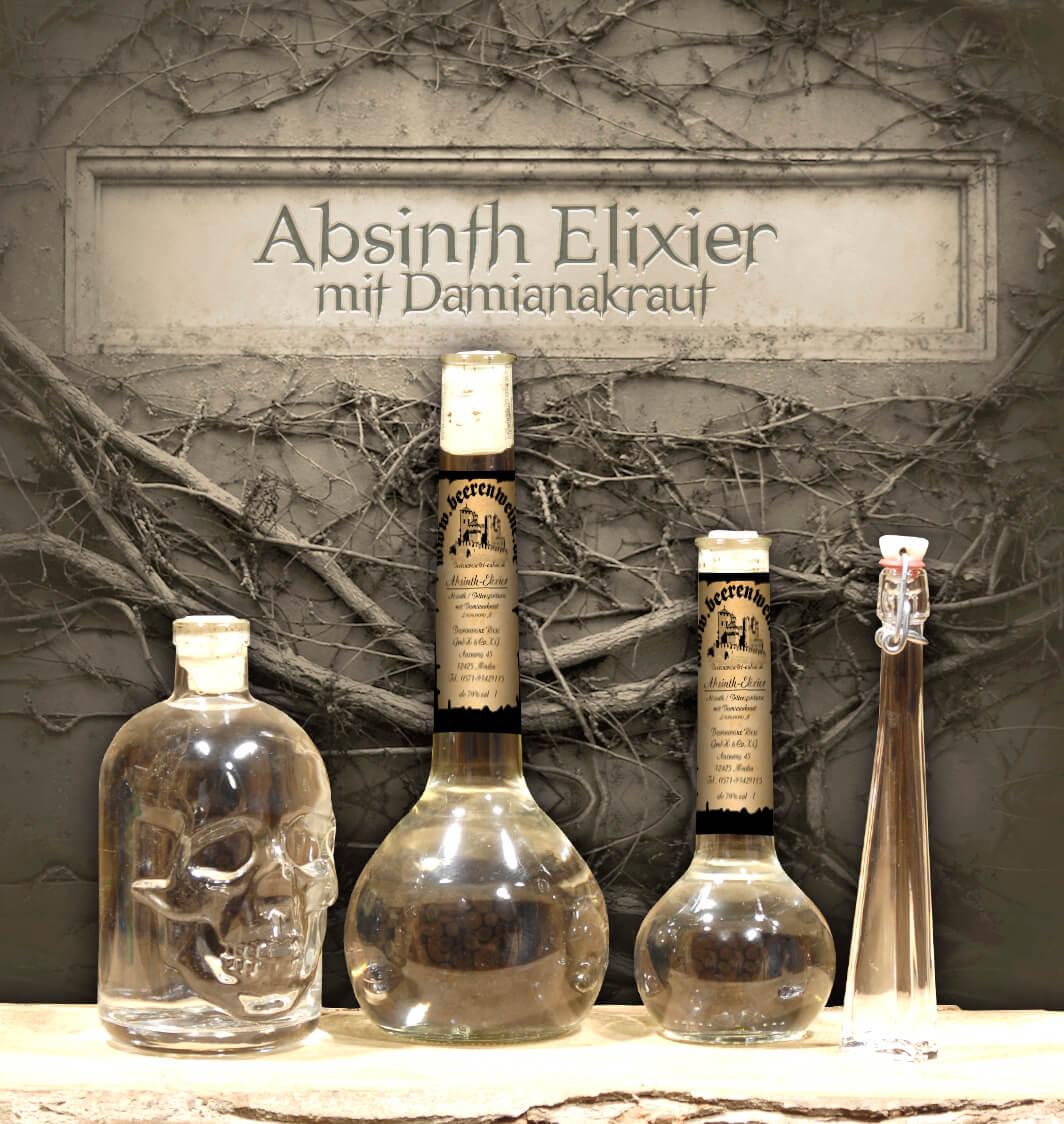 "Absinth-Elixier ""Damiana"""