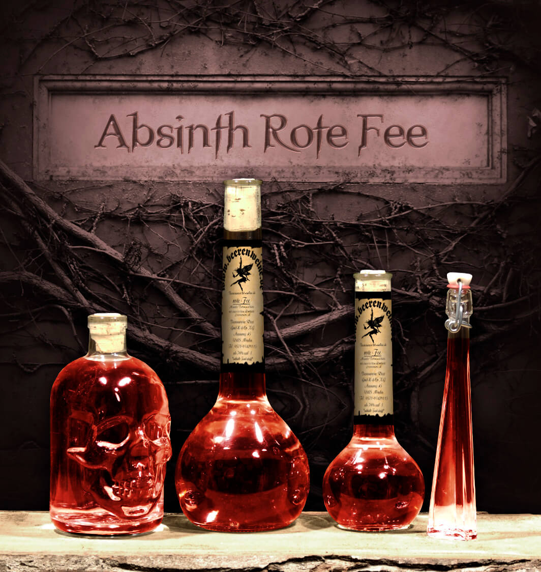 "Absinth ""Rote Fee"""