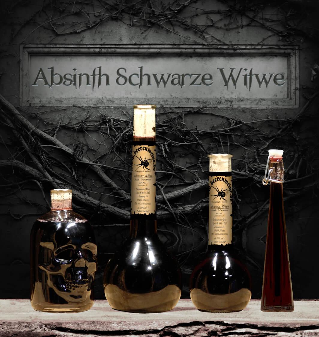 """Absinth """"Schwarze Witwe"""""""
