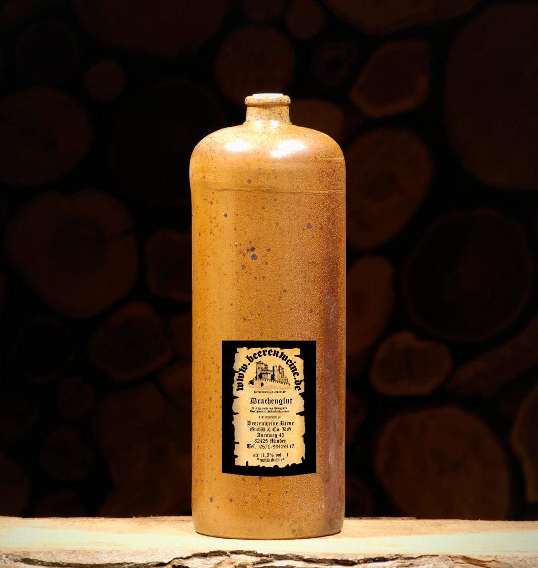 Drachenglut 2,0 Liter Tonflasche