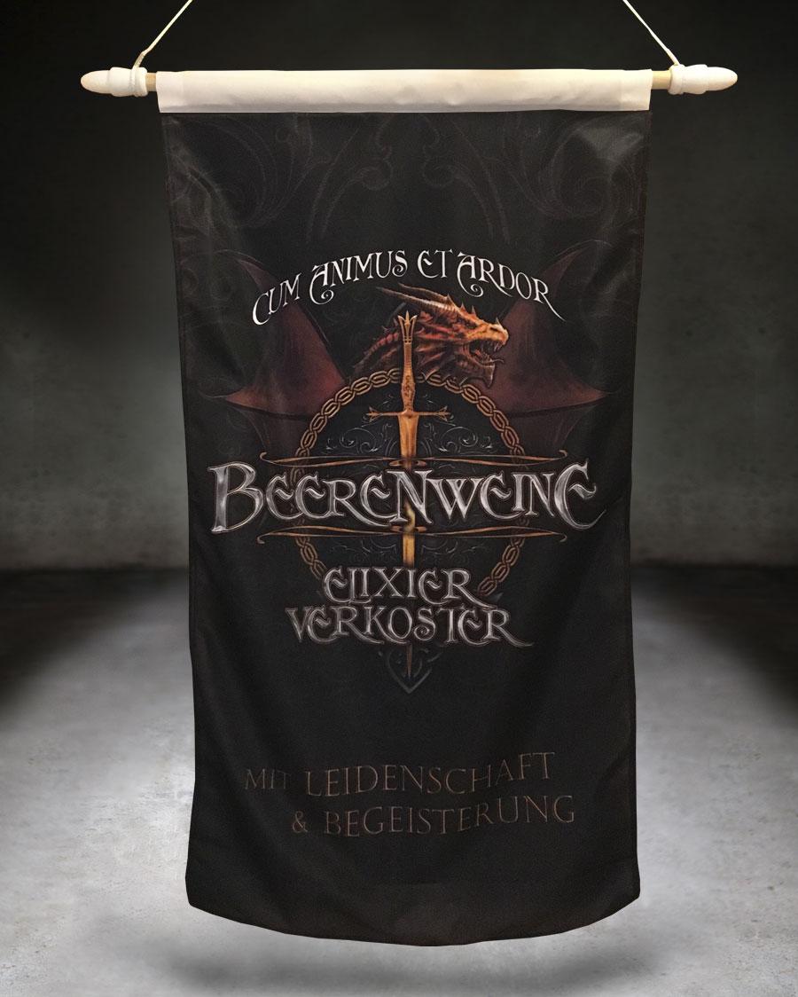 Fahne Beerenweine