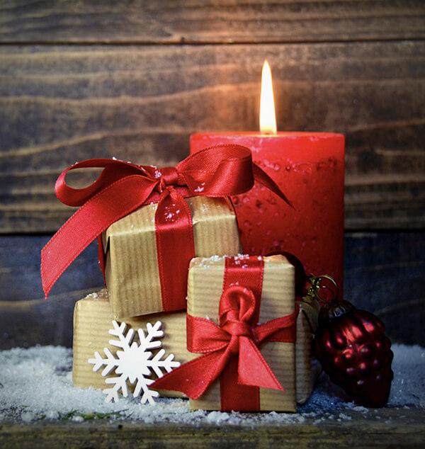 Geschenkbox zu Weihnachten - Wert 50 €