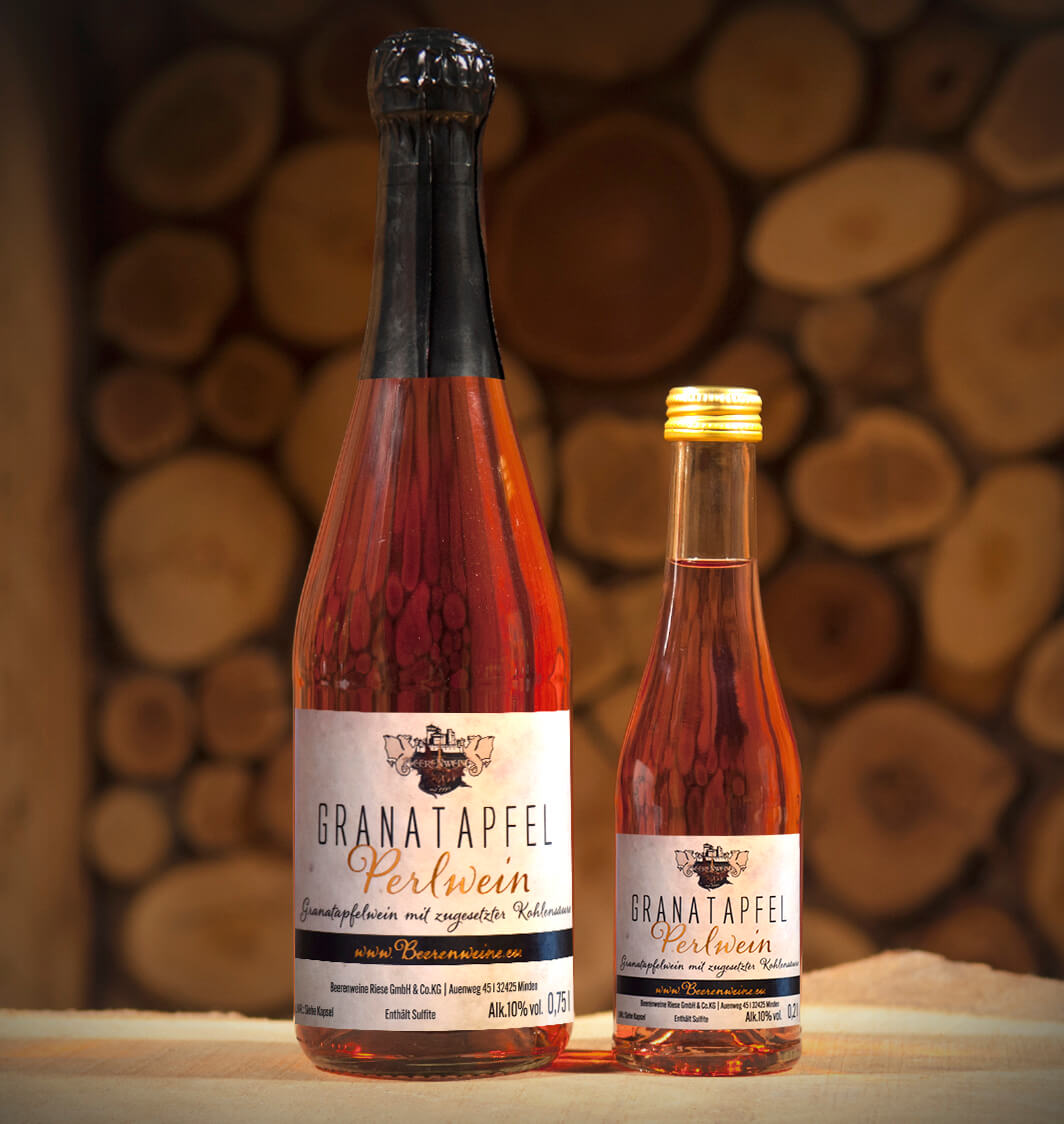 Granatapfel-Perlwein