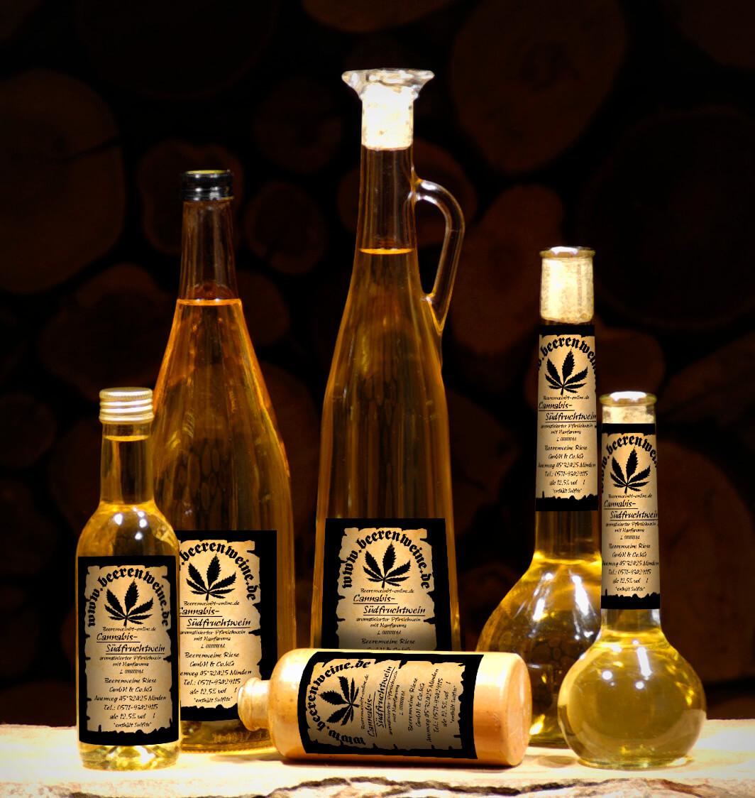 Hanf-Südfruchtwein