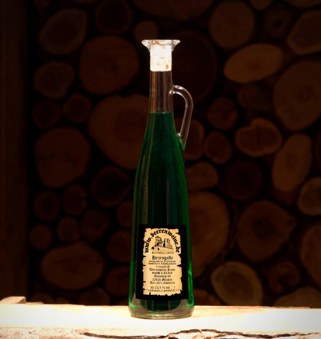 Hexengalle 0,75 Liter Amphore