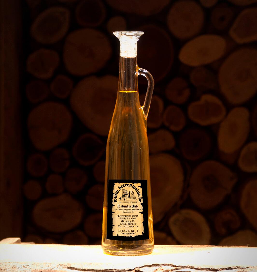 Holunderblütenwein 0,75 Liter Amphore