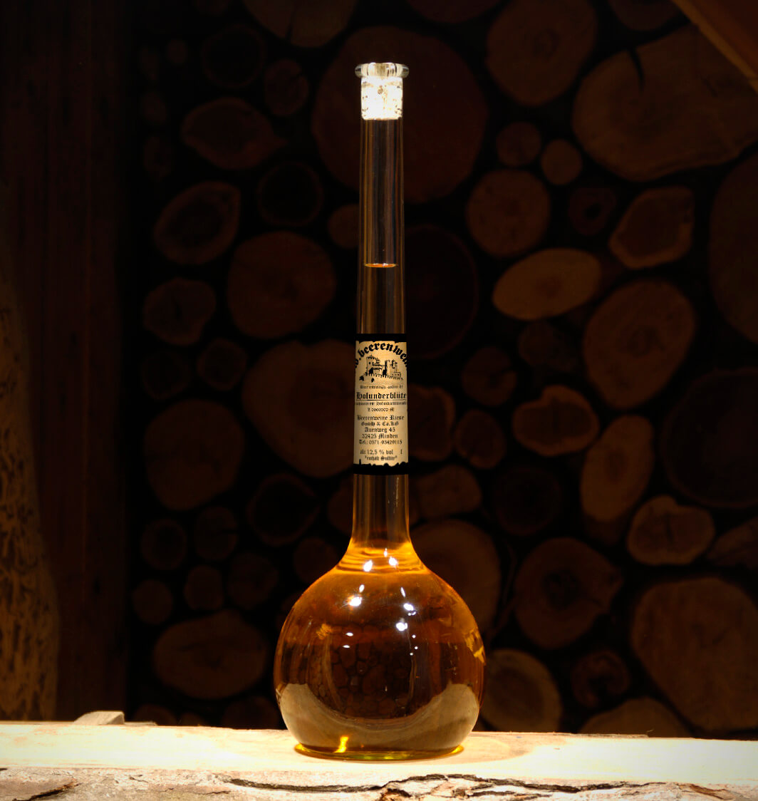 Holunderblütenwein 1,5 Liter Elixierflasche