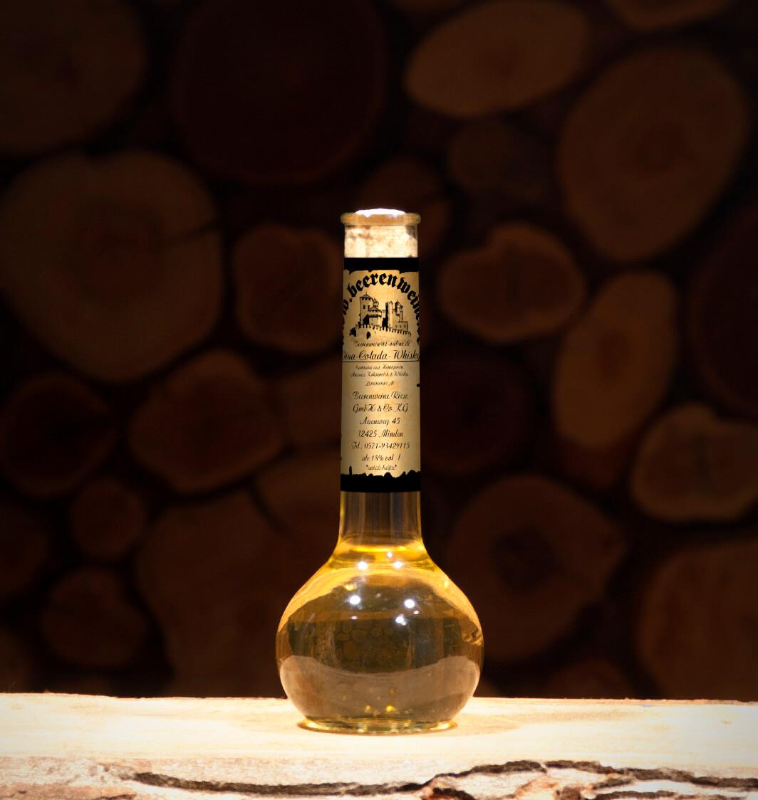 Honig Ananas Kokos mit Whisky 0,2 Liter Elixierflasche