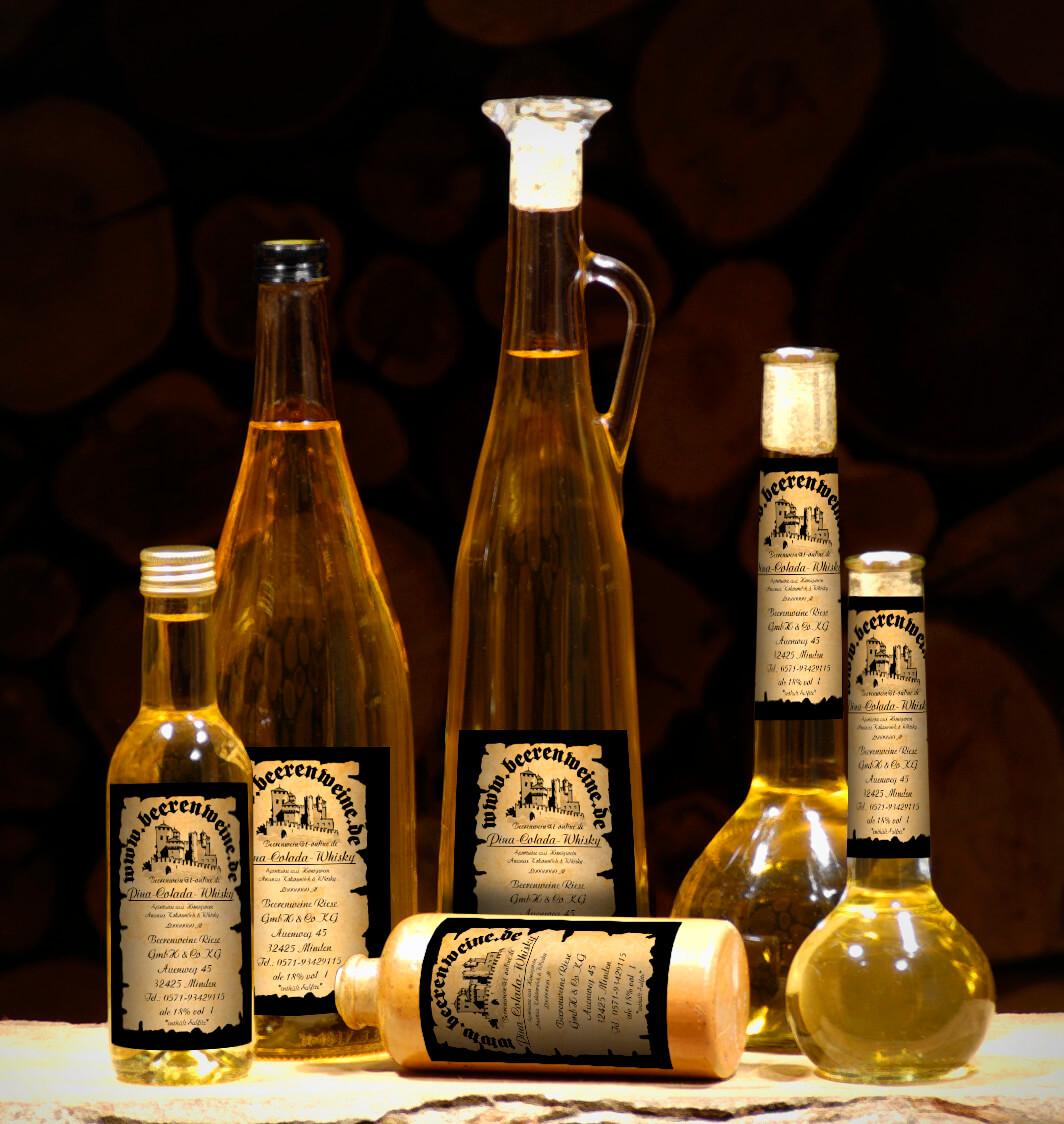 Honig Ananas Kokos mit Whisky