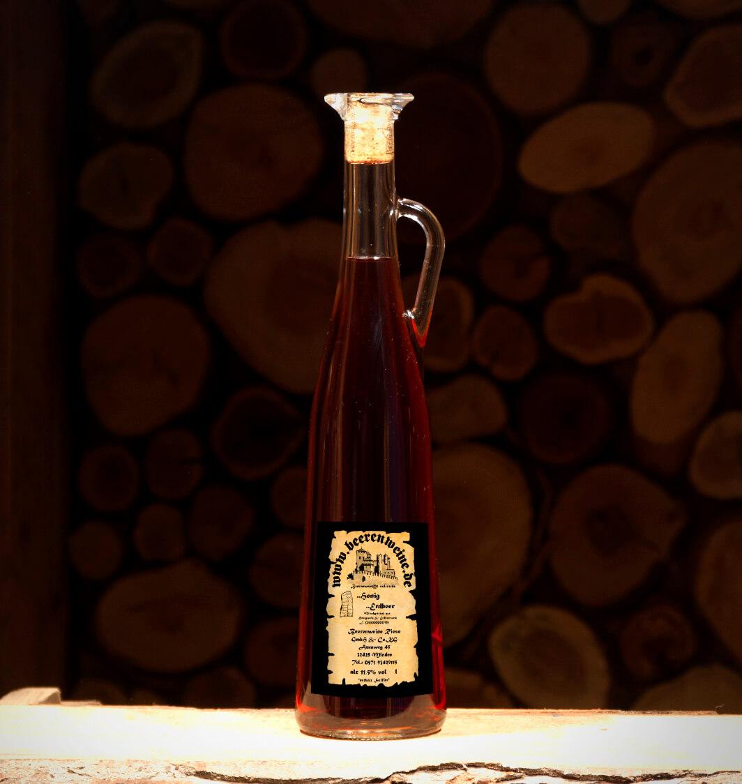 Honig-Erdbeer 0,75 Liter Amphore