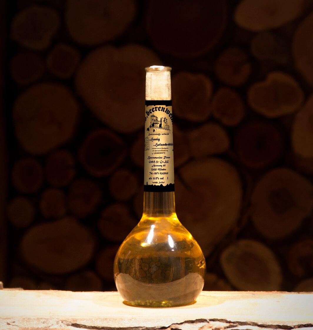 Honig-Holunderblüte 0,5 Liter Elixierflasche