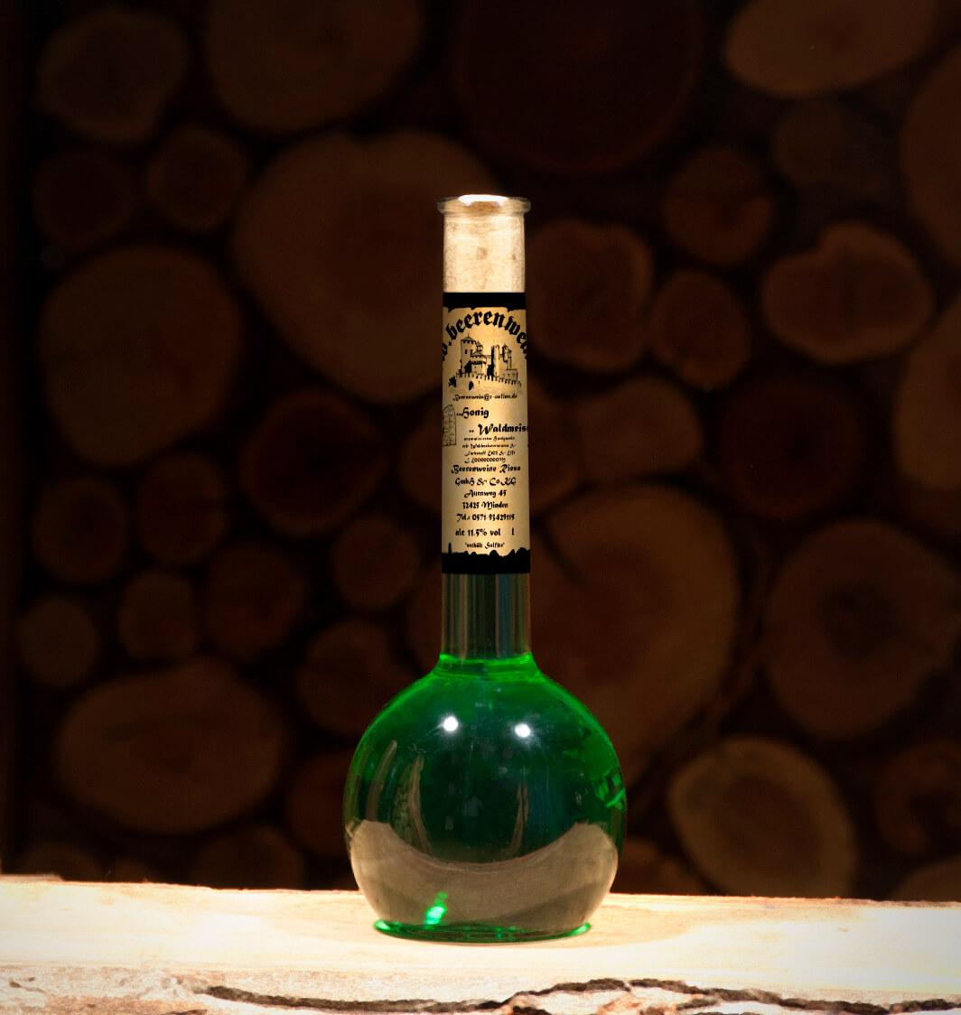 Honig-Waldmeister 0,5 Liter Elixierflasche