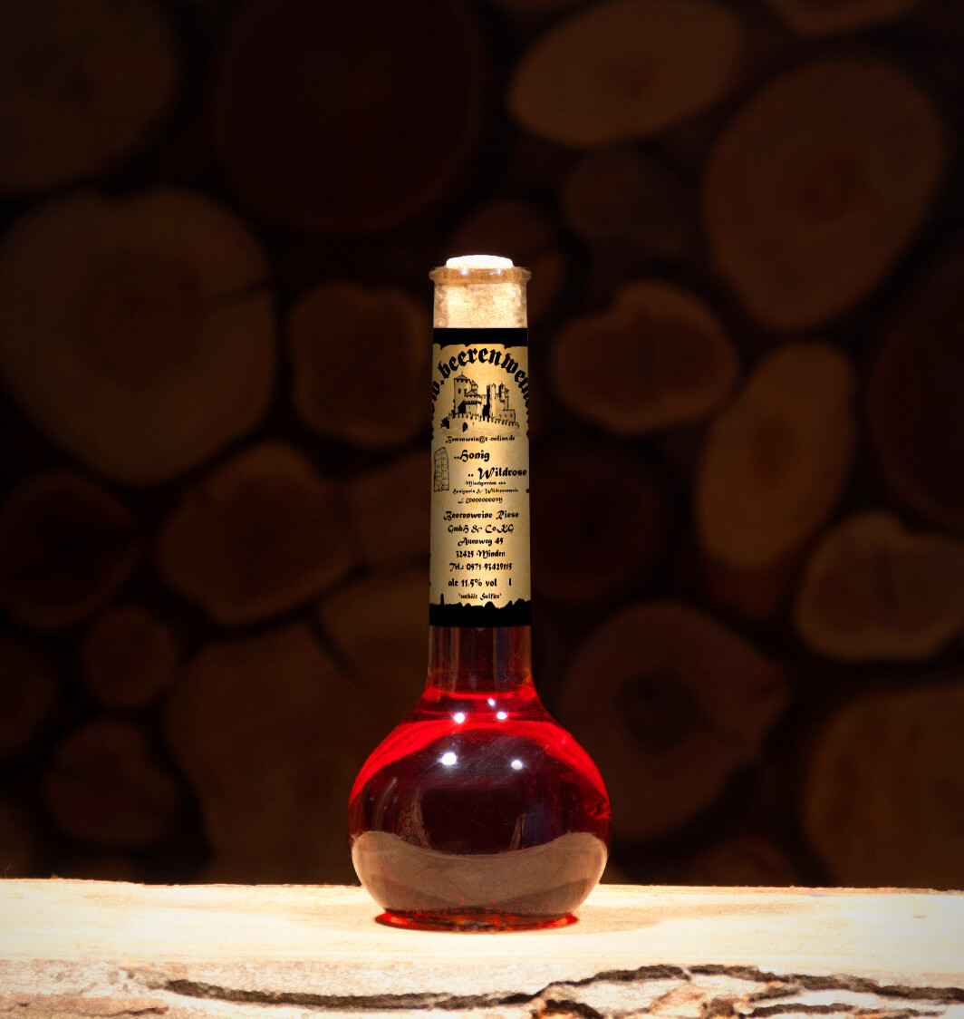 Honig-Wildrose 0,2 Liter Elixierflasche