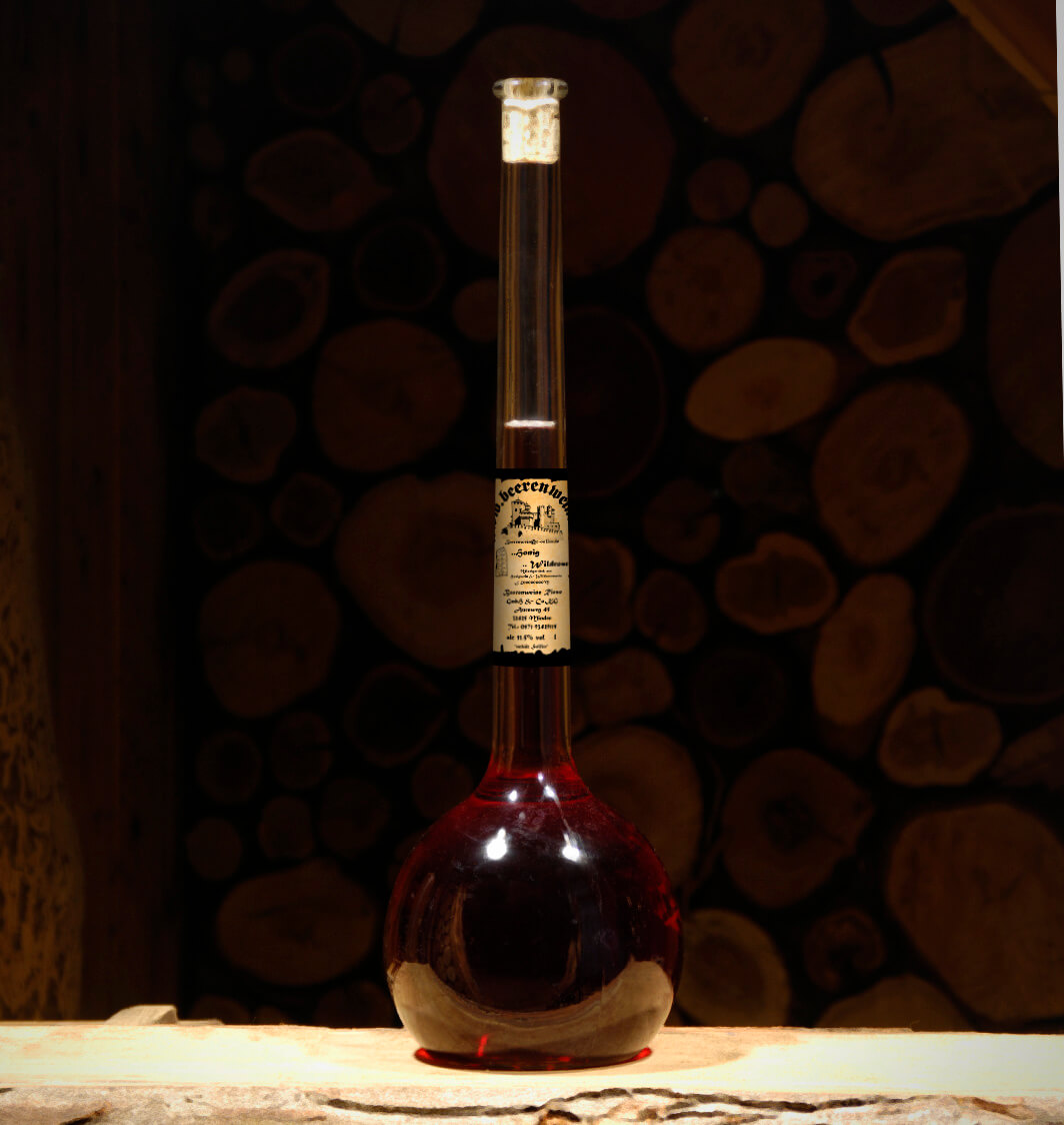 Honig-Wildrose 1,5 Liter Elixierflasche