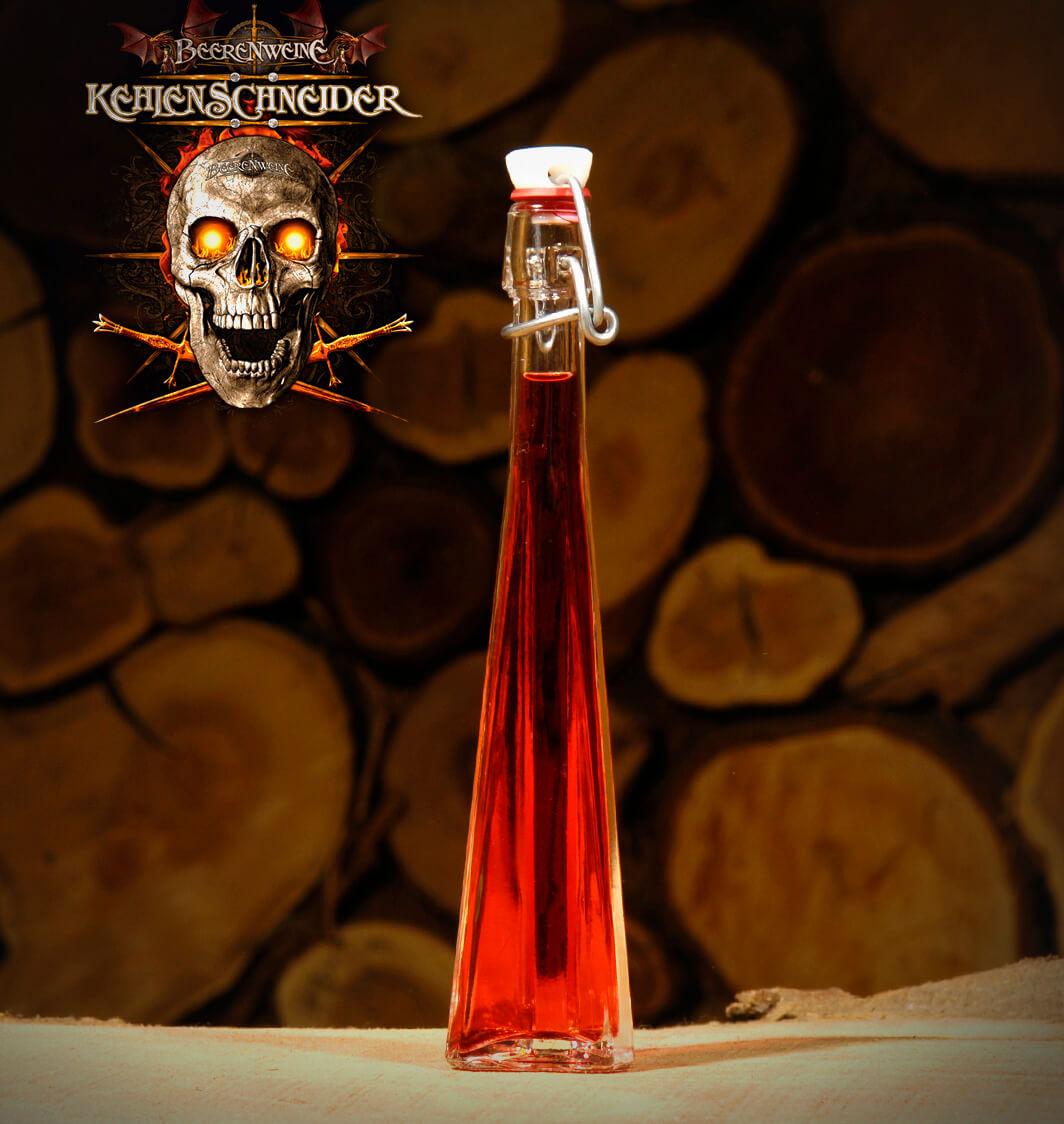 Kehlenschneider 0,04 Liter Dreieckflasche