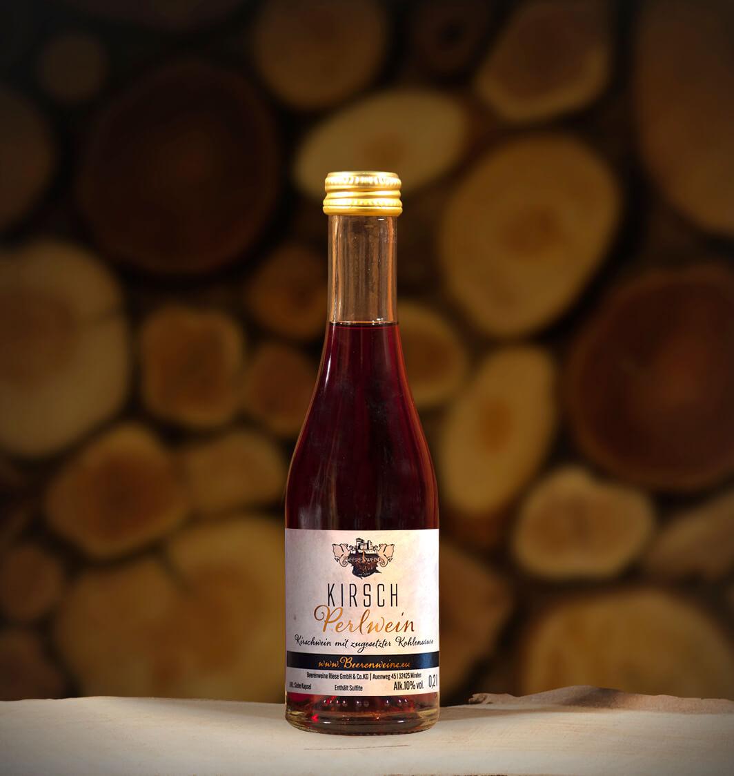 Kirsch-Perlwein 0,2 Liter