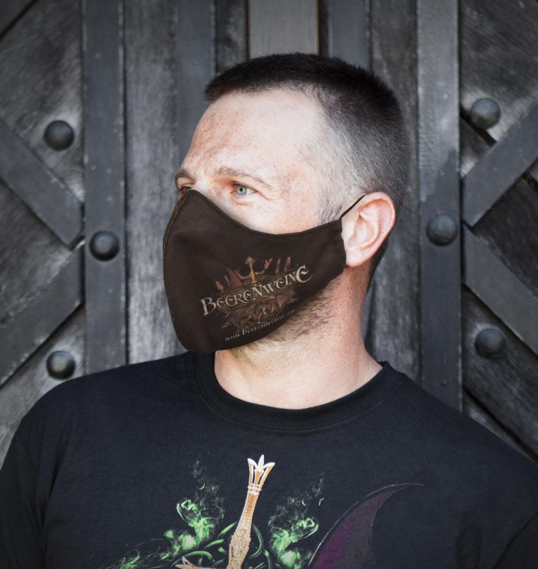 Beerenweine Maske Dunkel