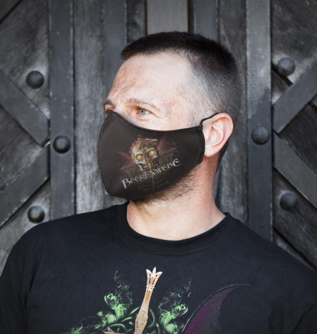 Kehlenschneider Maske