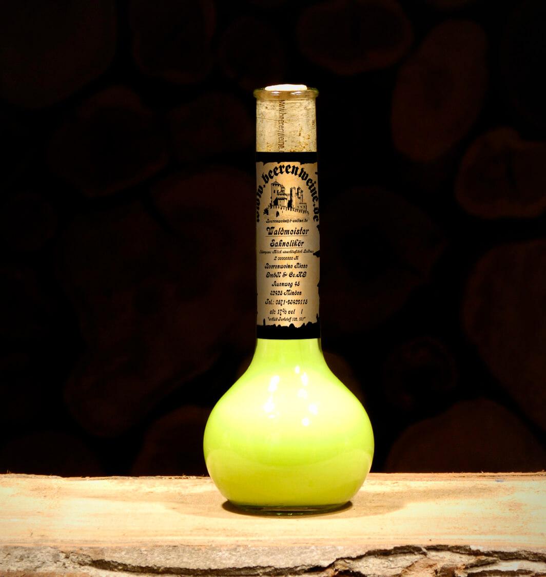 Waldmeister Sahnelikör 0,2 Liter Elixierflasche