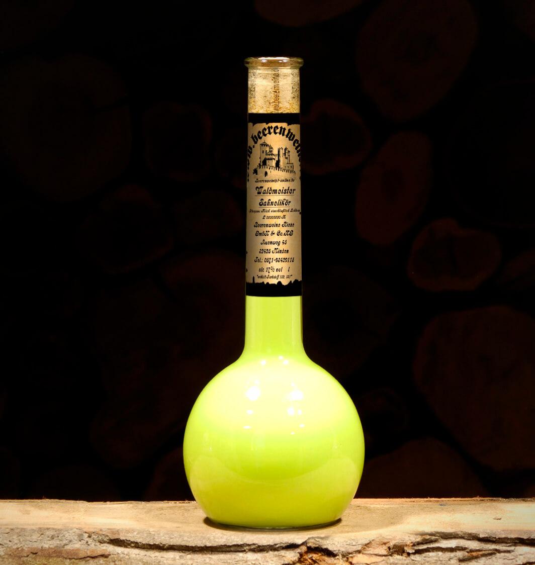 Waldmeister Sahnelikör 0,5 Liter Elixierflasche