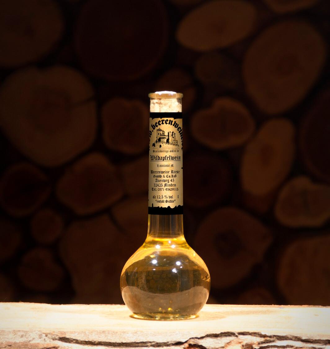 Wildapfelwein 0,2 Liter Elixierflasche