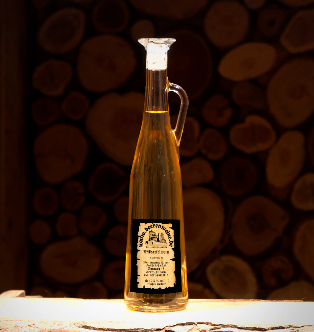 Wildapfelwein 0,75 Liter Amphore