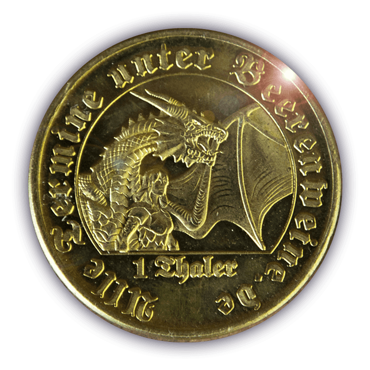 Beerenweines Münzen Gegen Prämien Eintauschen Oder Sammeln